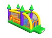 Saltea Gonflabila Profesionala Castel cu Obstacole