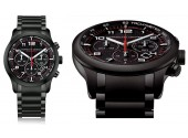 Porsche Design Moddashboard P6612 Pvd negru - Automatic Chrono Eterna Movement